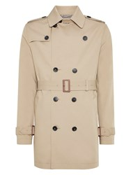 Burton Lightweight Trench Coat Beige