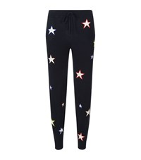 Chinti And Parker Multi Star Cashmere Sweatpants Female Navy