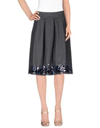Erika Cavallini Semi Couture Erika Cavallini Semicouture Skirts Knee Length Skirts Women Lead