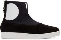 Mcq By Alexander Mcqueen Black Takeshi Boots