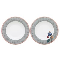 Pip Studio Blue Soup Plates Set Of 2