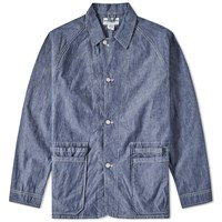 Sassafras Whole Hole Jacket Blue