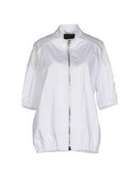 Philipp Plein Couture Coats And Jackets Jackets Women White