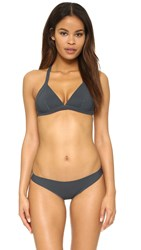 Vitamin A Bonded Reversible Triangle Top Charcoal Blue