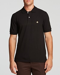 Brooks Brothers Pique Regular Fit Polo White