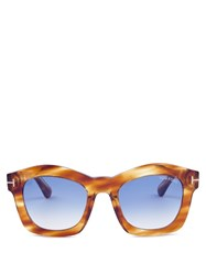 Tom Ford Sunglasses Greta Acetate Yellow Multi