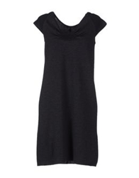 Neera Short Dresses Black
