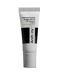 Anthony Logistics For Men Anthony Advanced Formula Lip Balm Spf 25 No Color