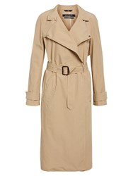 Marc O'polo Trench Coat In Classic Style Beige