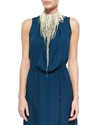 Haute Hippie Chessorie Beaded Chain Neckpiece