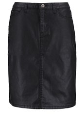 More And More Pencil Skirt Black