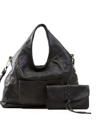 Sanctuary Laurel Canyon Leather Tote Black