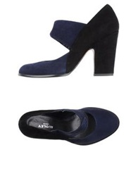 Audley Pumps Dark Blue
