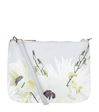 Ted Baker Airy Pearly Petals Clutch Bag Female Light Blue