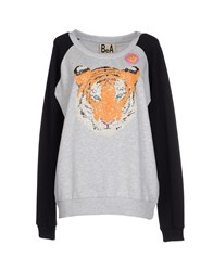 Bea Yuk Mui Bea Topwear Sweatshirts Women Light Grey