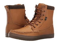 Sanuk Statton Deluxe Wheat Men's Lace Up Boots Tan