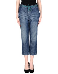 Jucca Denim Capris Blue