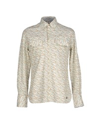 Galliano Shirts Shirts Men Beige