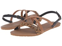 Volcom Journey Sandal Cheetah Women's Sandals Animal Print