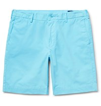 Polo Ralph Lauren Pima Cotton Twill Chino Shorts Blue