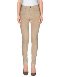 Burberry Brit Trousers Casual Trousers Women Beige