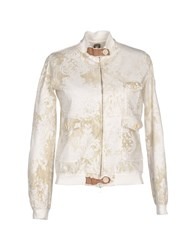 Swiss Chriss Coats And Jackets Jackets Women Ivory