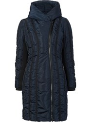 Zac Posen 'Leah' Padded Coat Blue