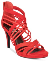 Impo Suki Dress Sandals Women's Shoes Red