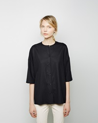 The Row Shelly Top Black