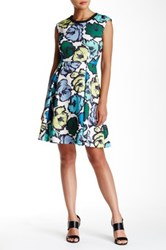 Plenty By Tracy Reese Ali Fit And Flare Dress Multi