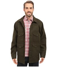 Filson Mackinaw Cruiser Extra Long Forest Green Men's Coat