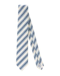 Hardy Amies Ties White