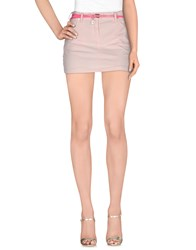 Maison Espin Skirts Mini Skirts Women Light Pink