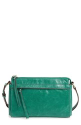 Hobo Tobey Leather Crossbody Bag Green