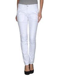 Uncode Casual Pants White