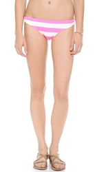 Juicy Couture Sixties Stripe Bikini Bottoms Shell Shock