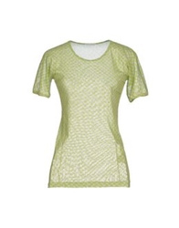 Stefano Mortari T Shirts Light Green