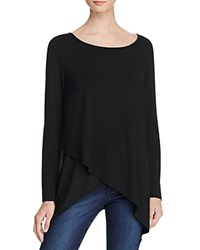 Paper And Tee Asymmetric Hem Compare At 49 Black