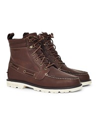 Sperry A O Lug Leather W P Boot Brown