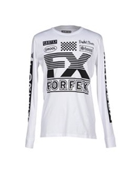 Forfex T Shirts White