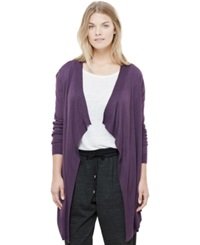 Violeta By Mango Plus Size Open Front Cardigan