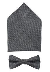 Selected Homme Shdemil Set Bow Tie Grey