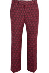 Gucci Woven Wool Flared Pants