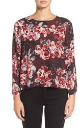 Cupcakes And Cashmere Women's Bentley Button Back Blouse
