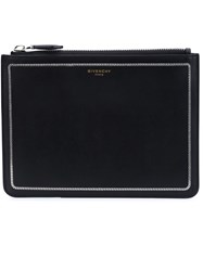 Givenchy Chain Trim Pouch Black