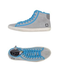 D.A.T.E. High Tops And Trainers Blue