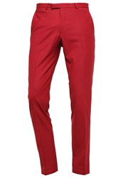 Noose And Monkey Ellroy Suit Trousers Rasberry