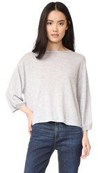 Demy Lee Olivia Sweater Light Heather Grey