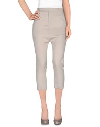 Rick Owens Trousers Casual Trousers Women Light Grey