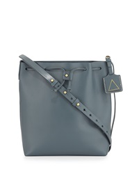 Kelsi Dagger Wythe Leather Bucket Bag Cement